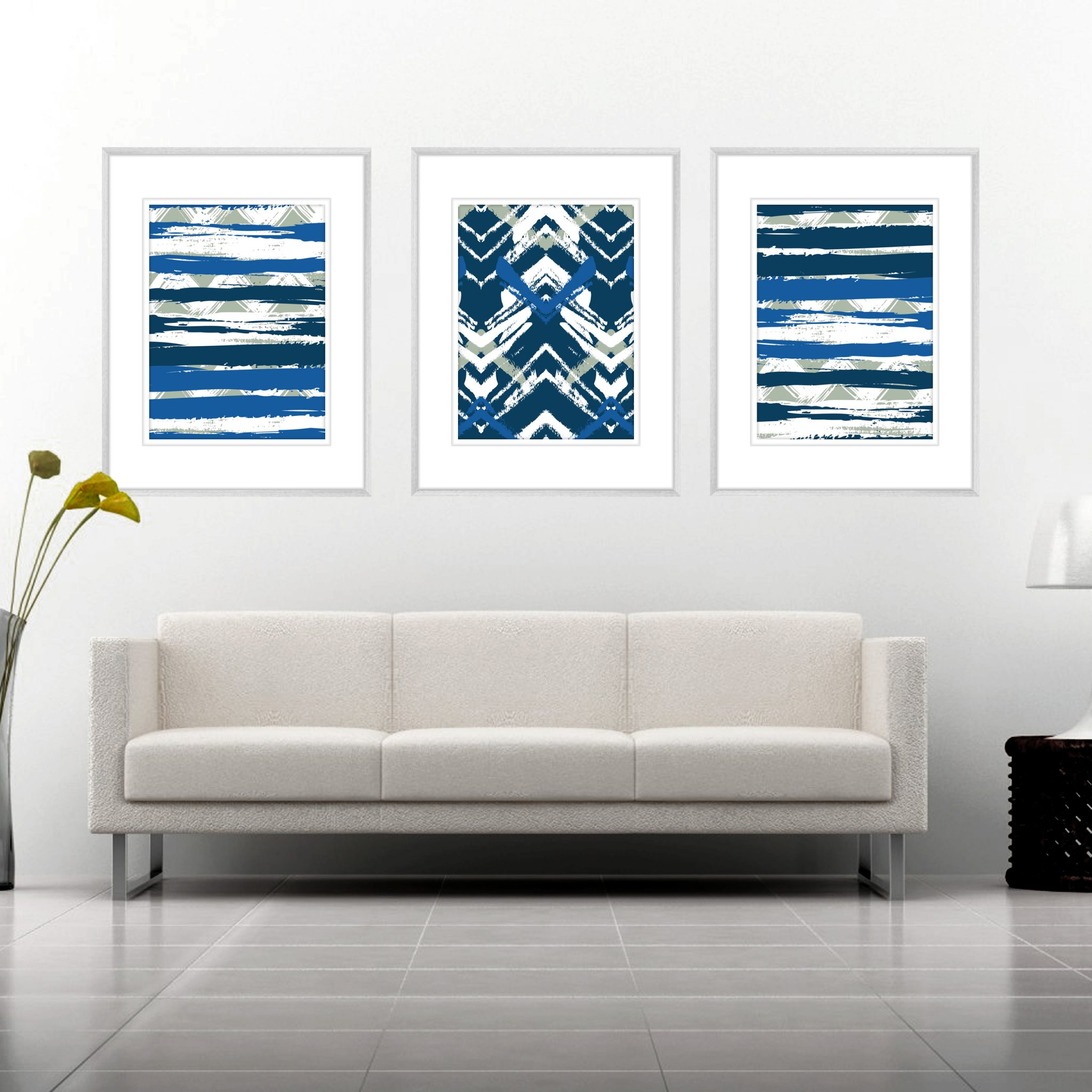 Sensational Zig Zag Abstracts Zig03 Framed Print Pdpeps Interior Chair Design Pdpepsorg